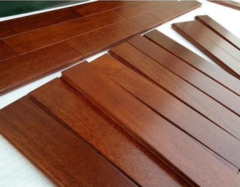 Prefinished Indonesia Merbau Solid Wood Flooring